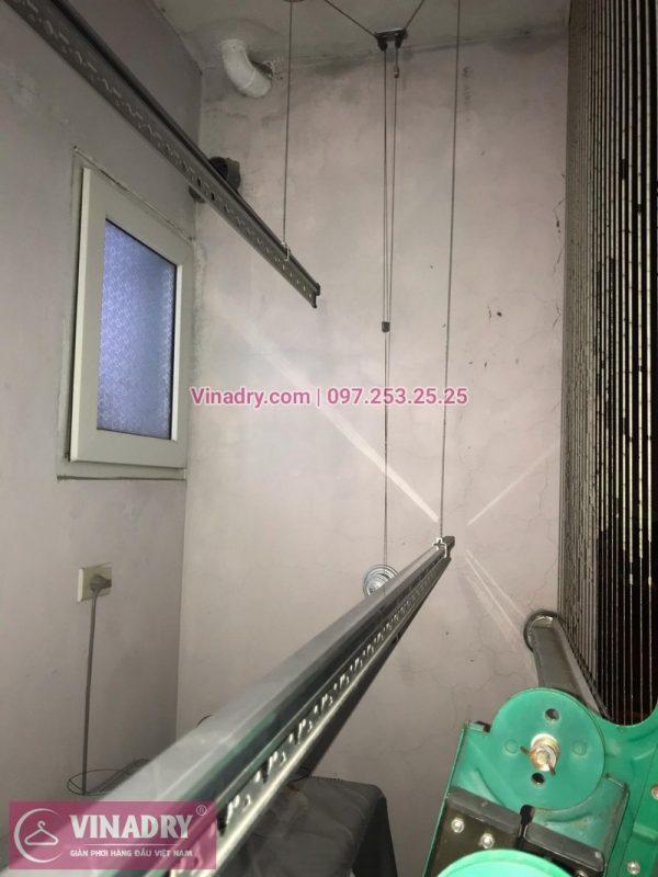 Thay toàn bộ dây cáp giàn phơi tại số 57, ngõ 673 Ngọc Hồi, Thanh Trì, Hà Nội nhà chị Nhung