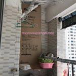 Sửa giàn phơi thông minh Linh Đàm, Hoàng Mai –  tại căn 1126, chung cư HH4C nhà chị Minh