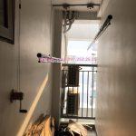 Lắp giàn phơi thông minh Thanh Xuân, Hà Nội – tại nhà anh Đức, chung cư 360,Giải Phóng