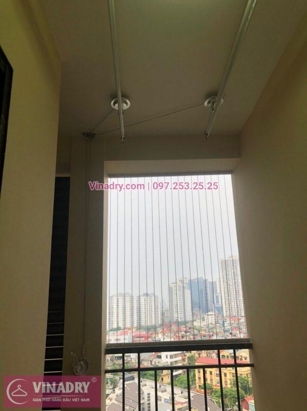 Lắp đặt giàn phơi thông minh Hòa Phát KS975 tại chung cư Eco Green City Nguyễn Xiển