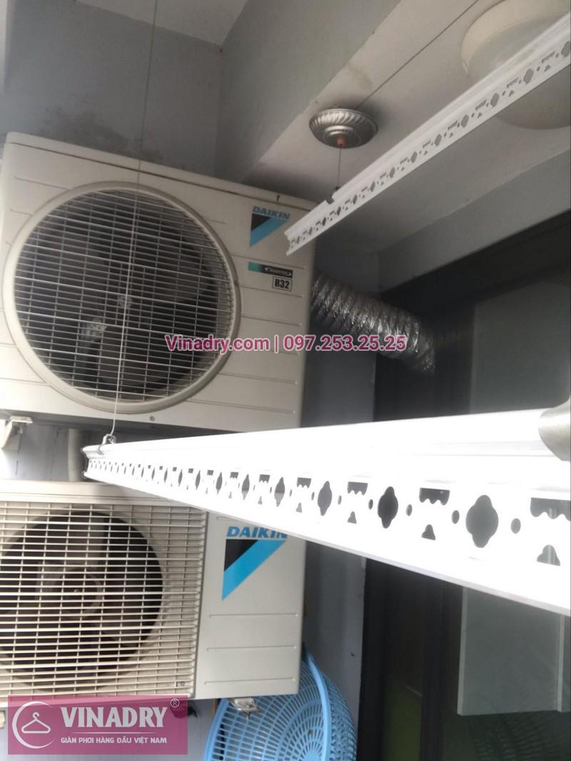 Thay toàn bộ dây cáp giàn phơi tại P609, chung cư A14A2, đường Nguyễn Chánh, Nam Trung Yên, Hà Nội