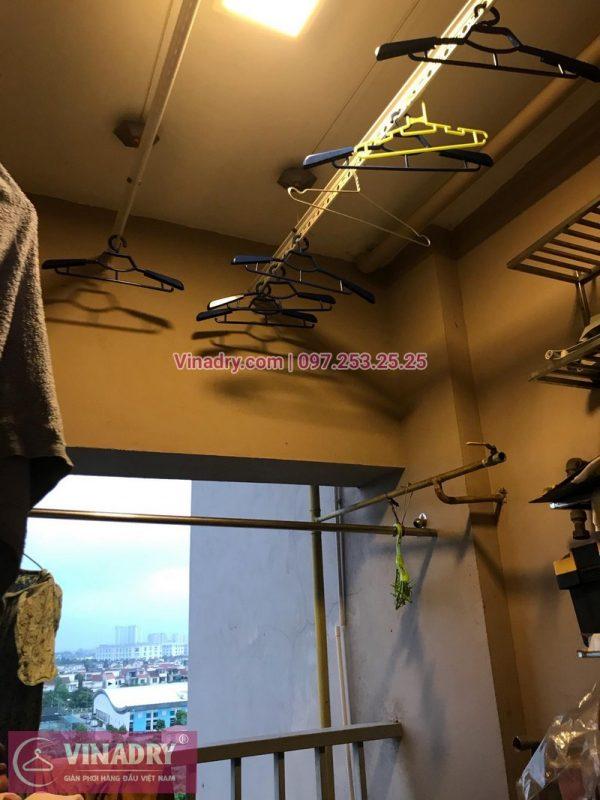Sửa giàn phơi thông minh Long Biên - Thay dây cáp tại nhà chị Hoa