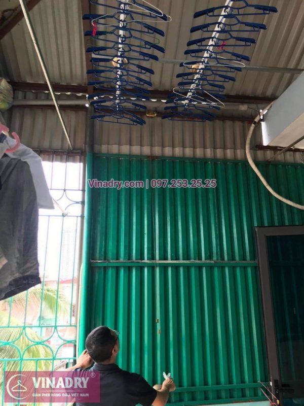 Bảo dưỡng giàn phơi thông minh tại Địn Công, Hoàng Mai nhà chị Minh