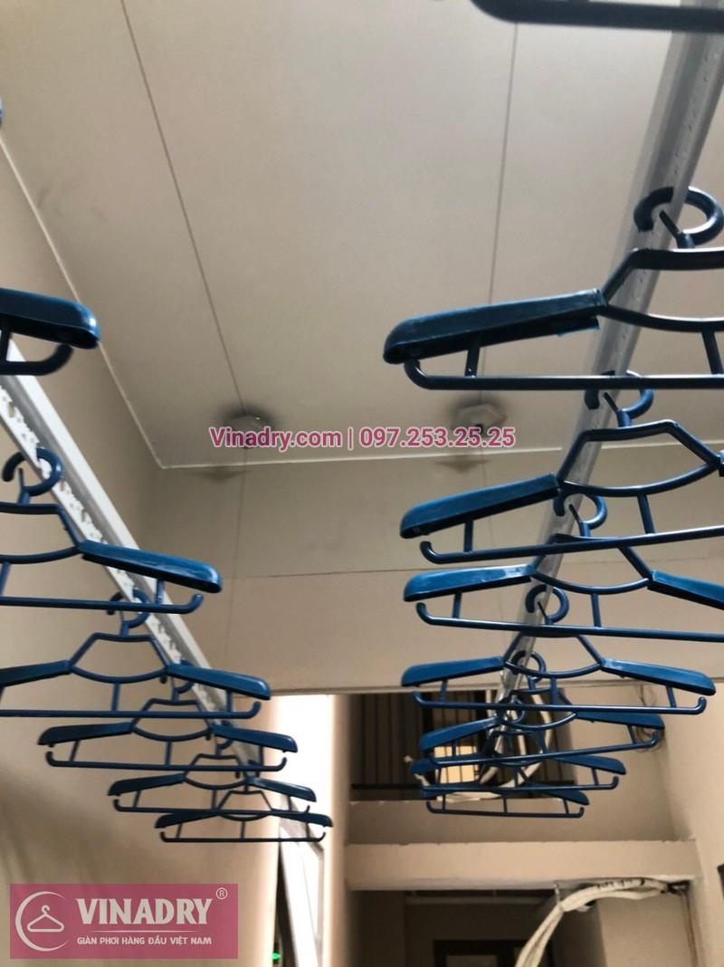 Lắp giàn phơi Cầu Giấy, Hà Nội: chung cư Chelsea Park, nhà cô Thanh - 01
