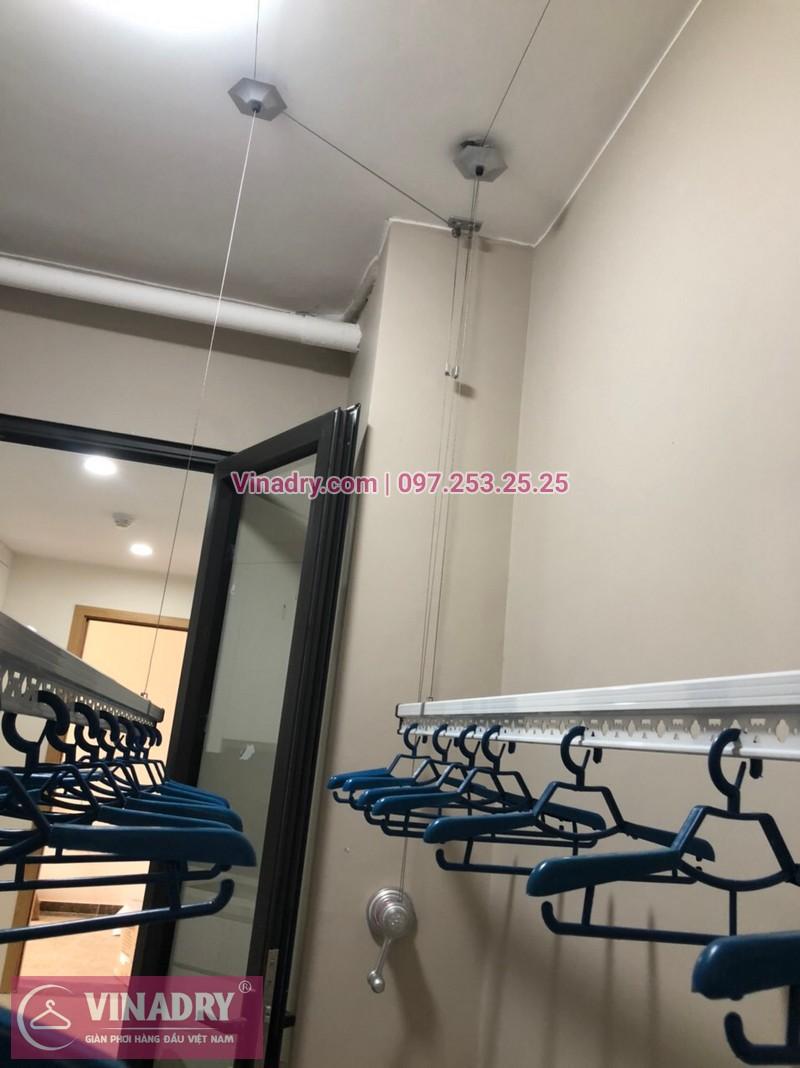 Lắp giàn phơi Cầu Giấy, Hà Nội: chung cư Chelsea Park, nhà cô Thanh - 04