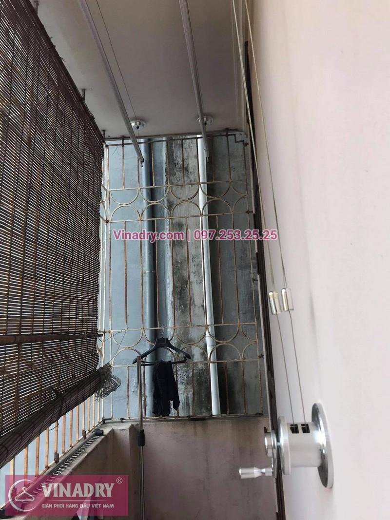 Lắp giàn phơi thông minh Tây Hồ, Hà Nội: nhà chị Hồng - 05