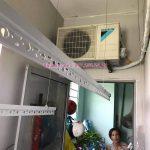 Lắp giàn phơi thông minh Hà Đông: bộ HP999B tại chung cư 18T5, KĐT Kiến Hưng