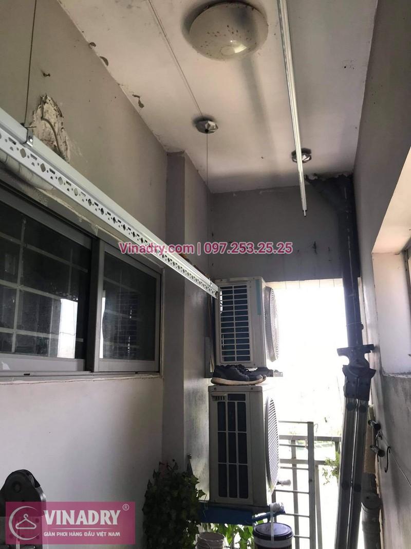 Lắp giàn phơi thông minh Hà Đông: bộ HP999B tại chung cư 18T5, KĐT Kiến Hưng -03