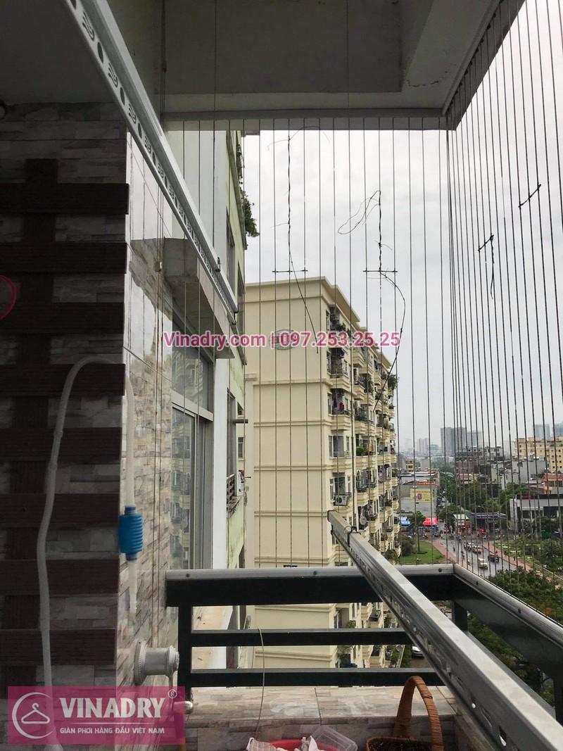 Sửa giàn phơi thông minh tại Bắc Linh Đàm, Hoàng Mai, Hà Nội nhà anh Nho, chung cư CT4 X2 - 03