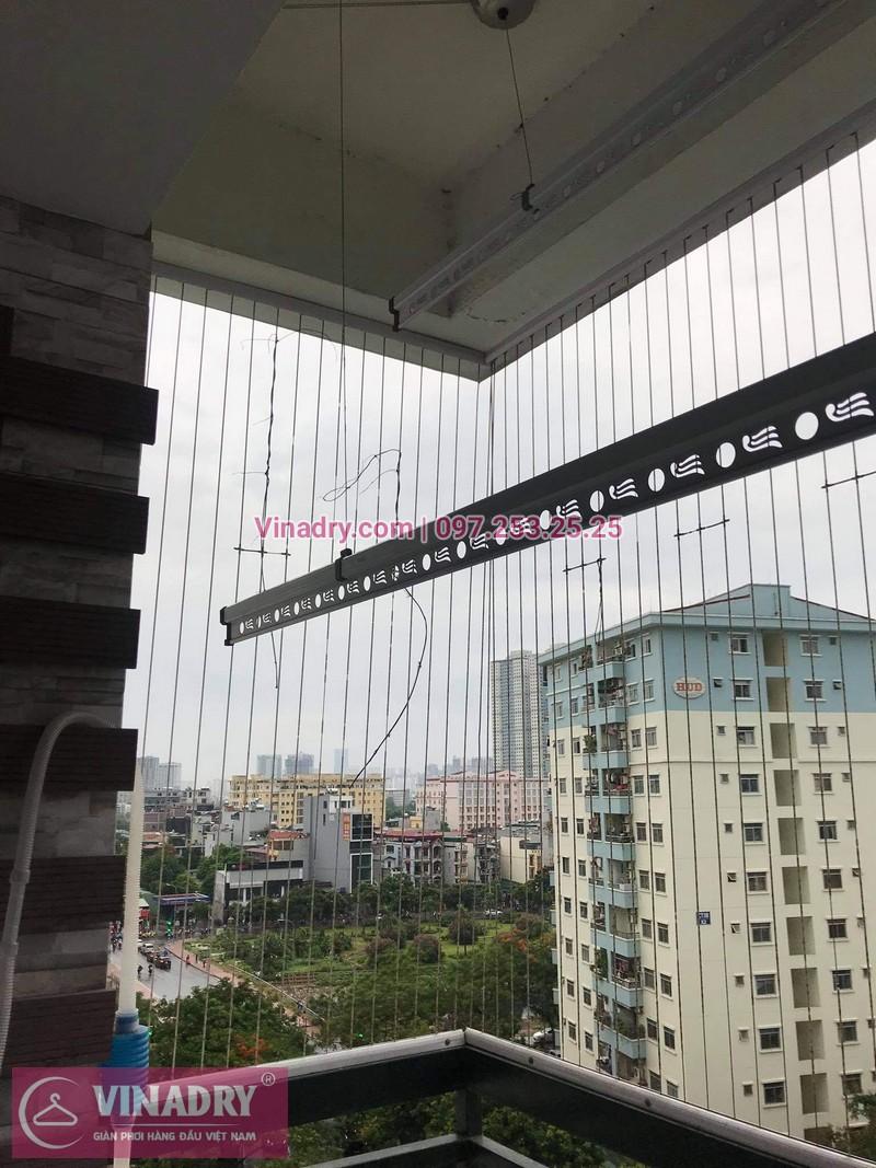 Sửa giàn phơi thông minh tại Bắc Linh Đàm, Hoàng Mai, Hà Nội nhà anh Nho, chung cư CT4 X2 - 05