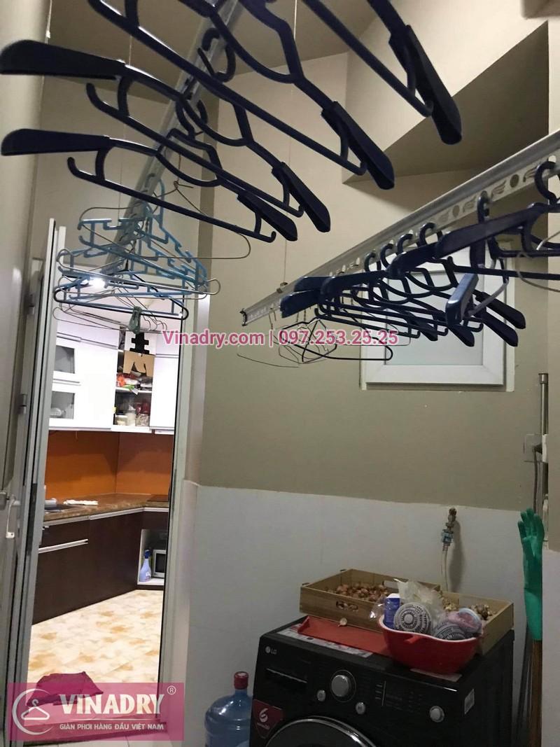 Sửa giàn phơi Cầu Giấy: Thay dây và tay quay tại nhà chị Hồng, chung cư Udic Complex, Hoàng Đạo Thúy - 03