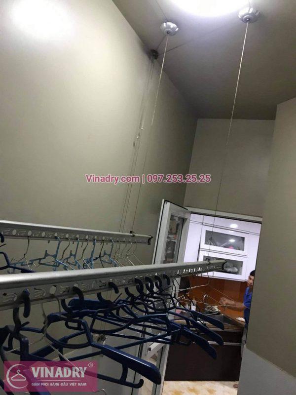 Sửa giàn phơi Cầu Giấy: Thay dây và tay quay tại nhà chị Hồng, chung cư Udic Complex - 04