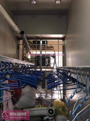 Sửa giàn phơi Cầu Giấy: Thay dây và tay quay tại nhà chị Hồng, chung cư Udic Complex