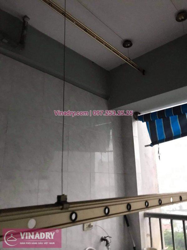 Sửa giàn phơi giá rẻ tại bán đảo Linh Đàm: nhà chị Nhung - 01
