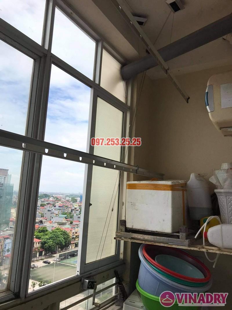 sửa giàn phơi thông minh tại chung cư học viện hậu cần, Long Biên, Hà Nội