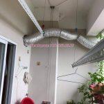 Sửa giàn phơi Long Biên: thay dây cáp giàn phơi tại nhà chị Thúy