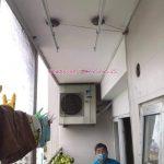 Sửa giàn phơi quần áo Tây Hồ, Hà Nội: Thay dây cáp tại chung cư Học viện Quốc Phòng