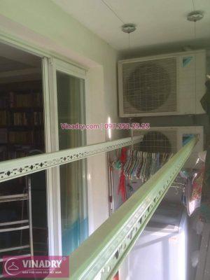 Sửa giàn phơi thông minh tại Hai Bà Trưng, Hà Nội nhà chị Loan