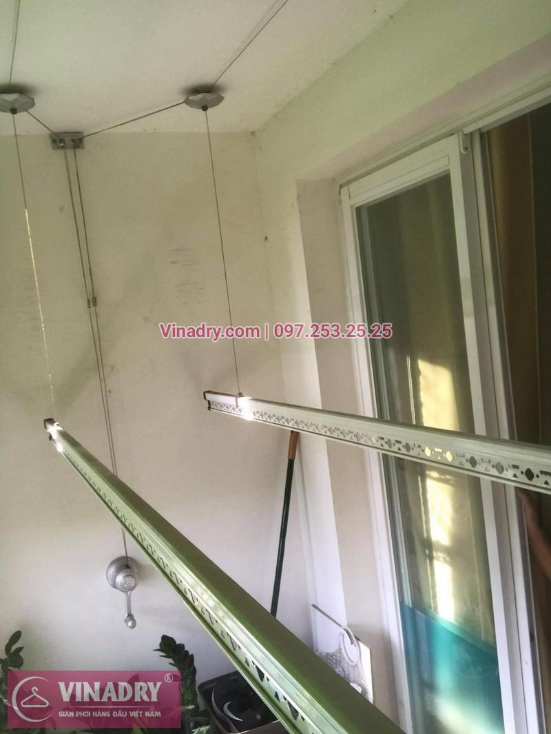 Sửa giàn phơi thông minh Hai Bà Trưng, Hà Nội: nhà chị Loan, chung cư 109 Trương Định - 03