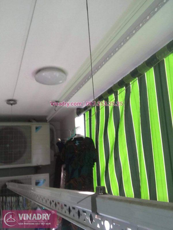 Sửa giàn phơi thông minh Hai Bà Trưng, Hà Nội: nhà chị Loan, chung cư 109 Trương Định - 04