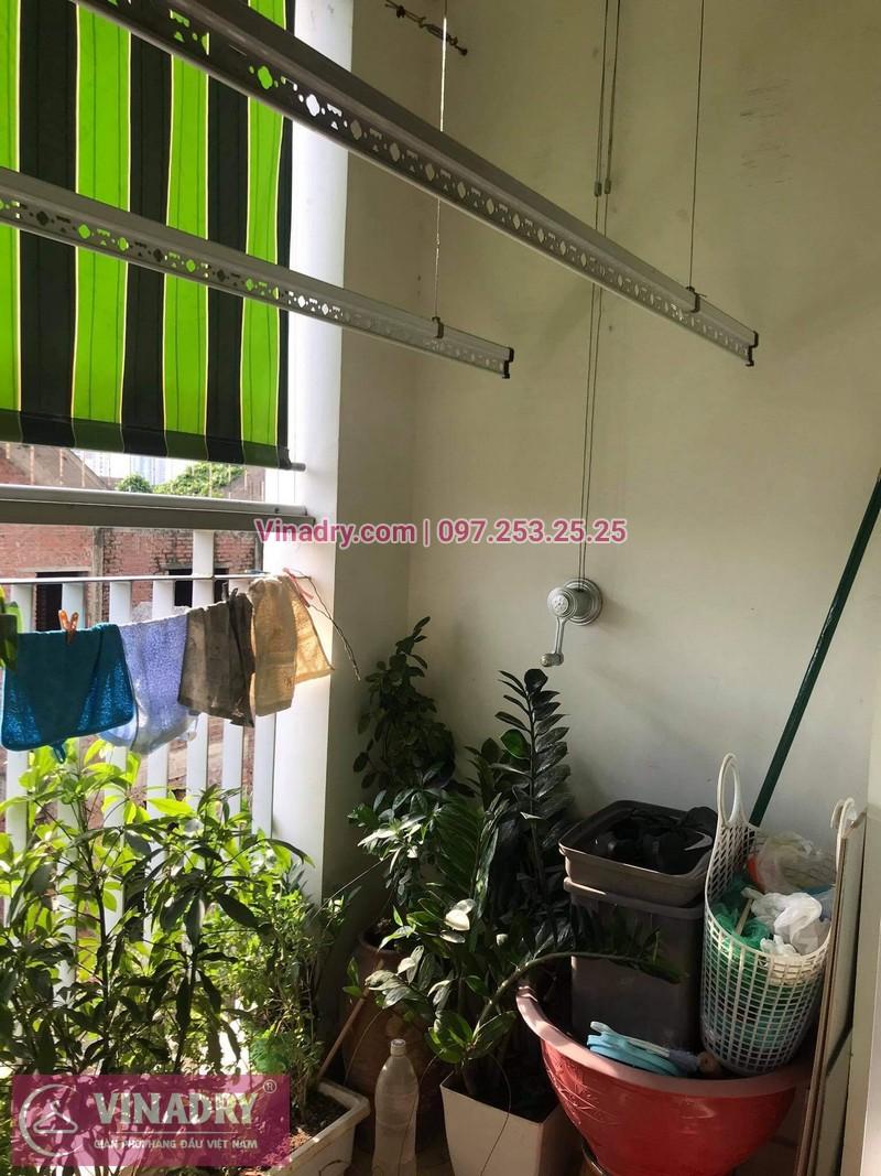 Sửa giàn phơi thông minh Hai Bà Trưng, Hà Nội: nhà chị Loan, chung cư 109 Trương Định - 05
