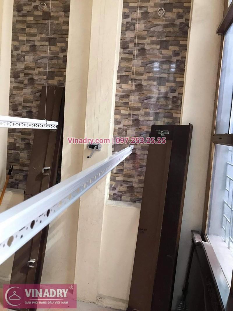 Lắp bộ giàn phơi Hòa Phát HP368 giá rẻ tại nhà chị Cúc - 04