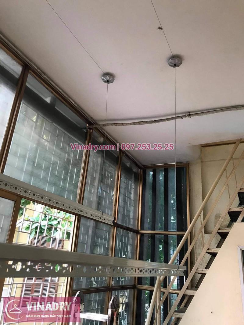 Lắp bộ giàn phơi Hòa Phát HP368 giá rẻ tại nhà chị Cúc - 02