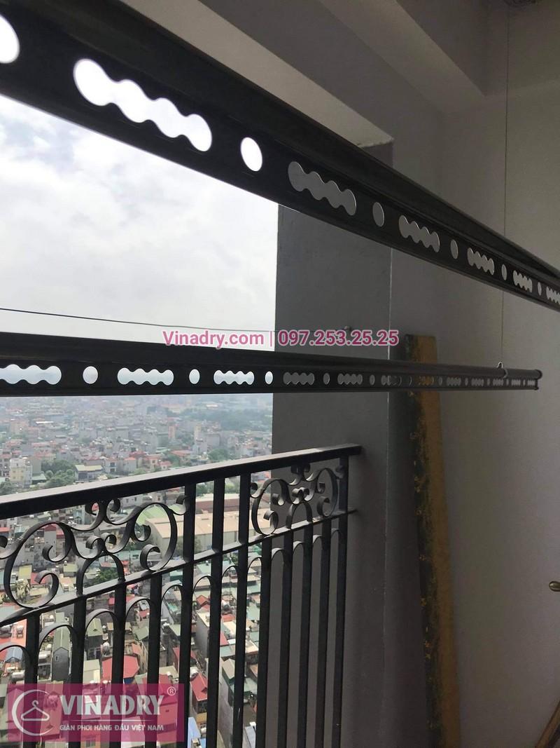 Lắp giàn phơi chung cư Sunshine Palace, Hoàng Mai: Bộ GP941 tại nhà chị Bích - 03