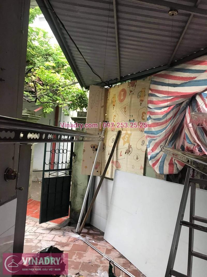 Lắp giàn phơi quần áo tại Nam Từ Liêm nhà cô Thanh - 03
