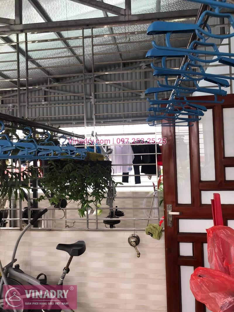 Lắp giàn phơi thông minh tại Đống Đa, Hà Nội: nhà chị Hồng, Hào Nam - 04