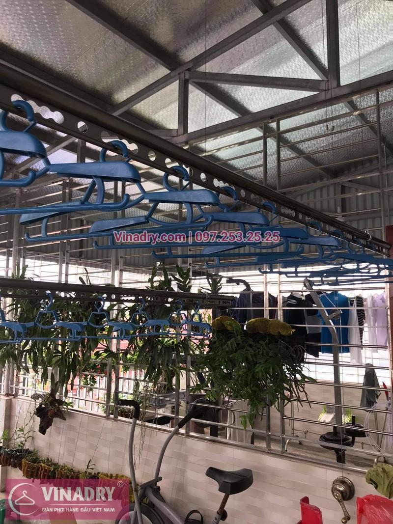 Lắp giàn phơi thông minh tại Đống Đa, Hà Nội: nhà chị Hồng, Hào Nam - 03