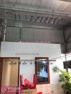 Lắp giàn phơi thông minh tại Đống Đa, Hà Nội: nhà chị Hồng, Hào Nam