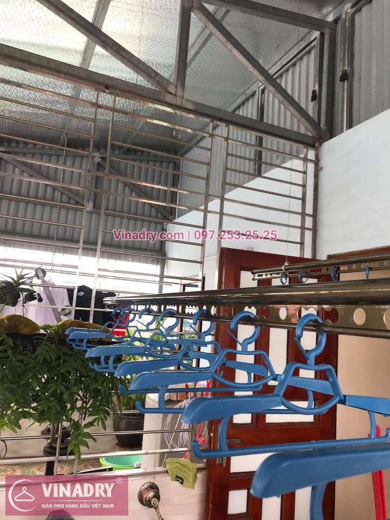 Lắp giàn phơi thông minh tại Đống Đa, Hà Nội: nhà chị Hồng, Hào Nam - 05