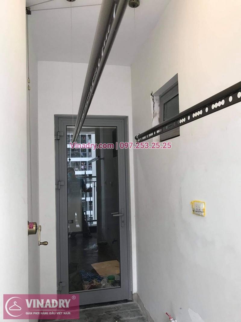 Lắp giàn phơi tại Vinhomes smart City tòa S1.02 nhà chị Huệ, bộ GP941 cao cấp - 04