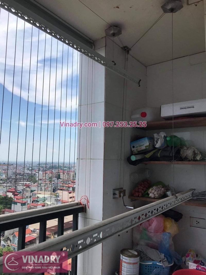 Sửa giàn phơi Hoàng Mai, Hà Nội: Chung cư Vật tư Du lịch - nhà anh Hùng- 03
