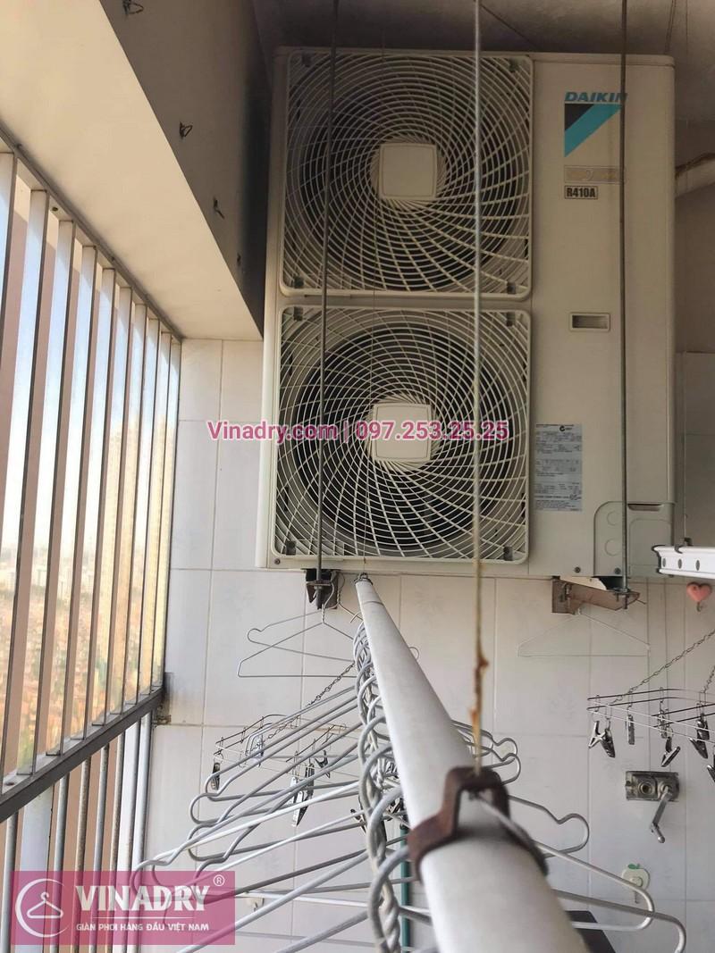 Sửa giàn phơi quần áo tại Tô Hiệu, Hà Nội: nhà anh Trường - 02
