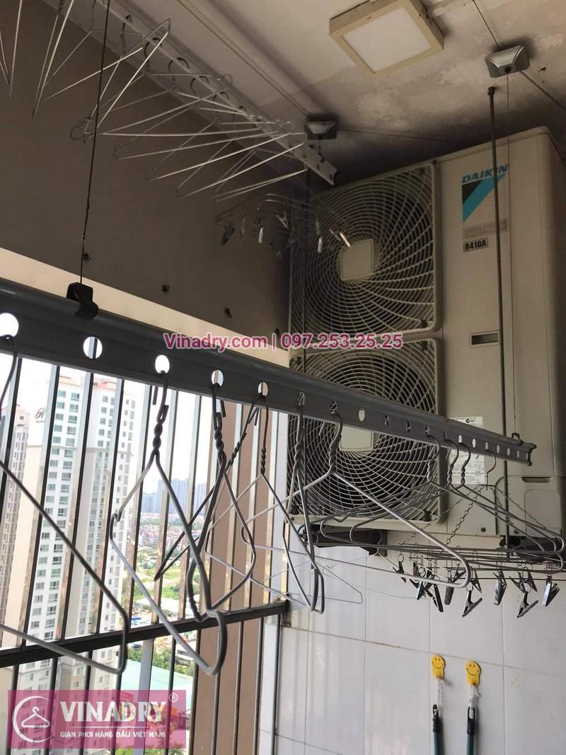 Sửa giàn phơi quần áo tại Tô Hiệu, Hà Nội: nhà anh Trường - 03