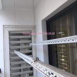 Sửa chữa giàn phơi tại KĐT Vinhomes Ocean Park: thay dây cáp nhà chị Tâm, Tòa S2.07