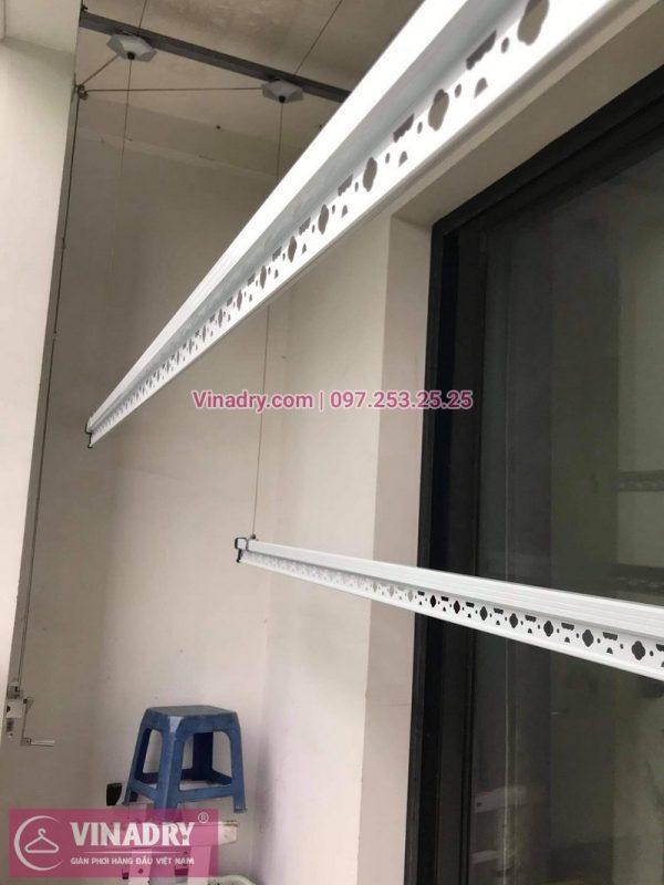 Lắp giàn phơi thông minh tại Vinhomes smart city tòa S2.09 nhà chị Nhi - 01