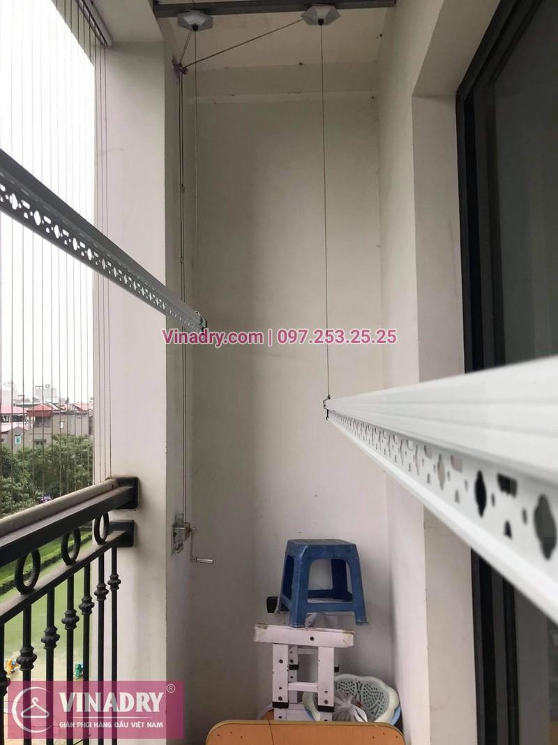 Lắp giàn phơi thông minh tại Vinhomes smart city tòa S2.09 nhà chị Nhi - 03