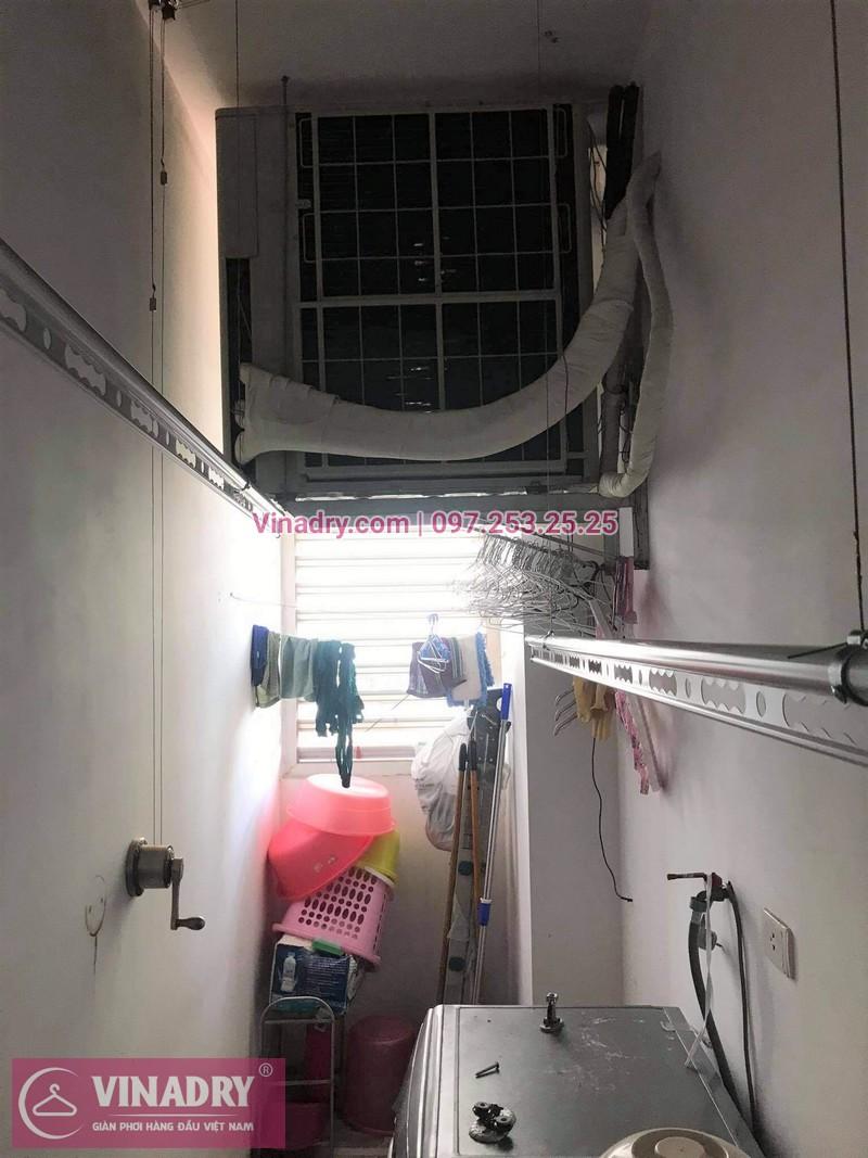 Lắp giàn phơi tại Vinhomes smart city mẫu GP941 hiện đại