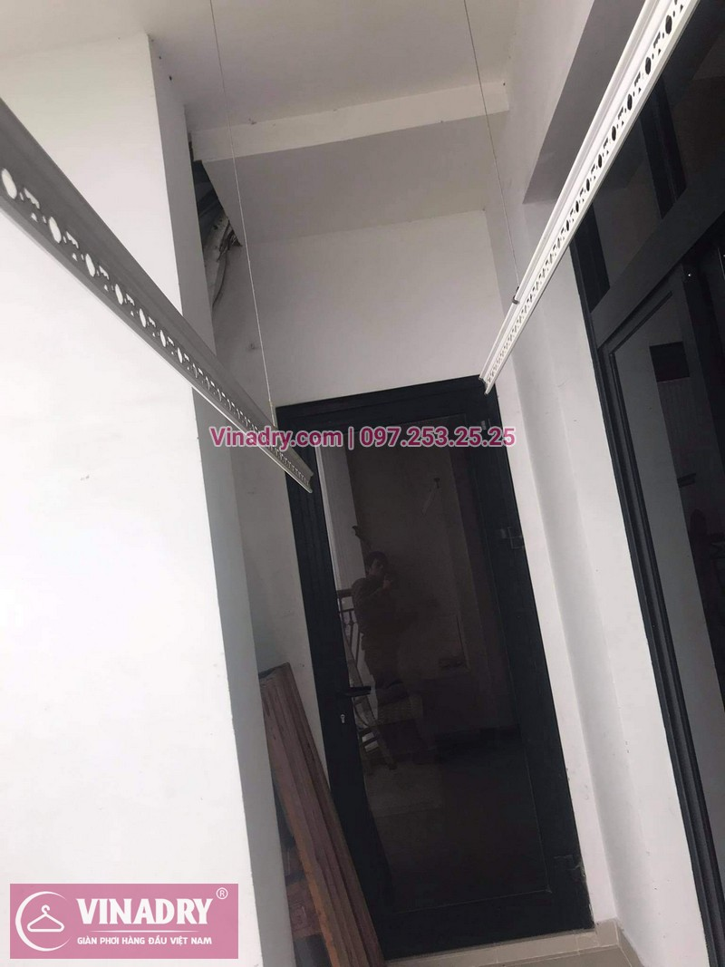 Sửa giàn phơi Royal City nhà anh Khang, tòa R1B - 02