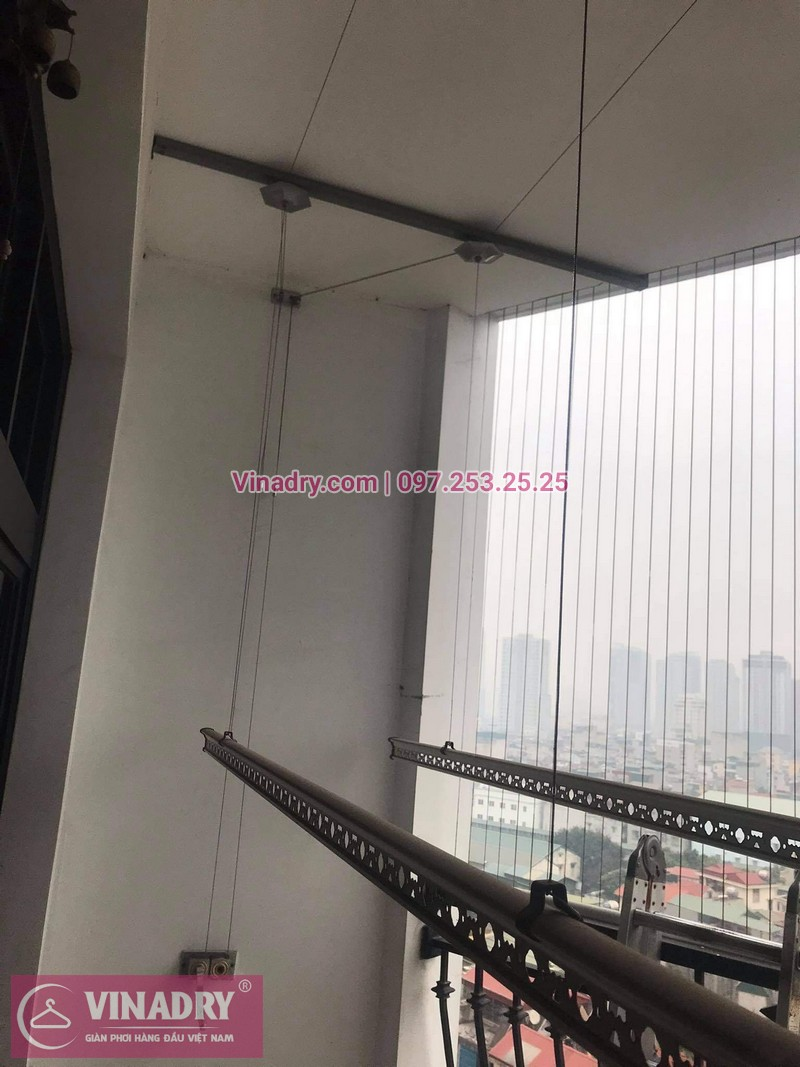 Sửa giàn phơi Royal City nhà anh Khang, tòa R1B - 06