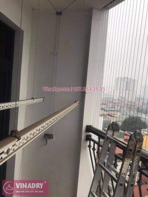 Sửa giàn phơi Royal City nhà anh Khang, tòa R1B - 07