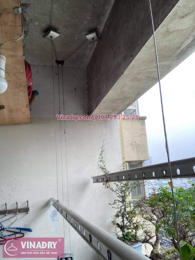 Sửa giàn phơi quần áo tại Hai Bà Trưng, chung cư D4 Kim Liên nhà chị Thơm - 02