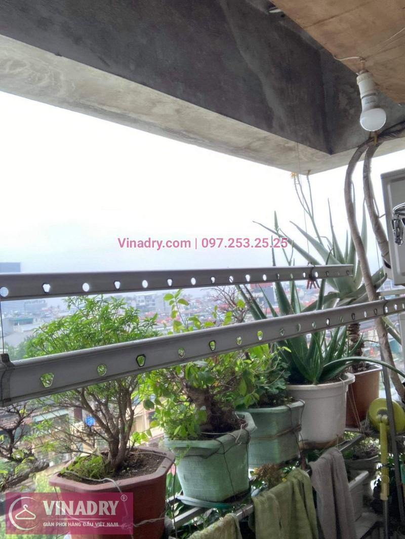 Sửa giàn phơi quần áo tại Hai Bà Trưng, chung cư D4 Kim Liên nhà chị Thơm - 04