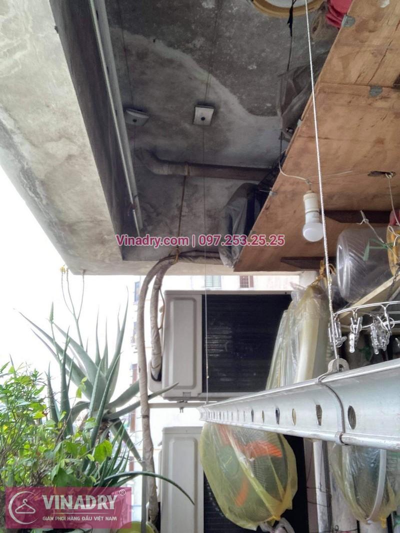 Sửa giàn phơi quần áo tại Hai Bà Trưng, chung cư D4 Kim Liên nhà chị Thơm - 06