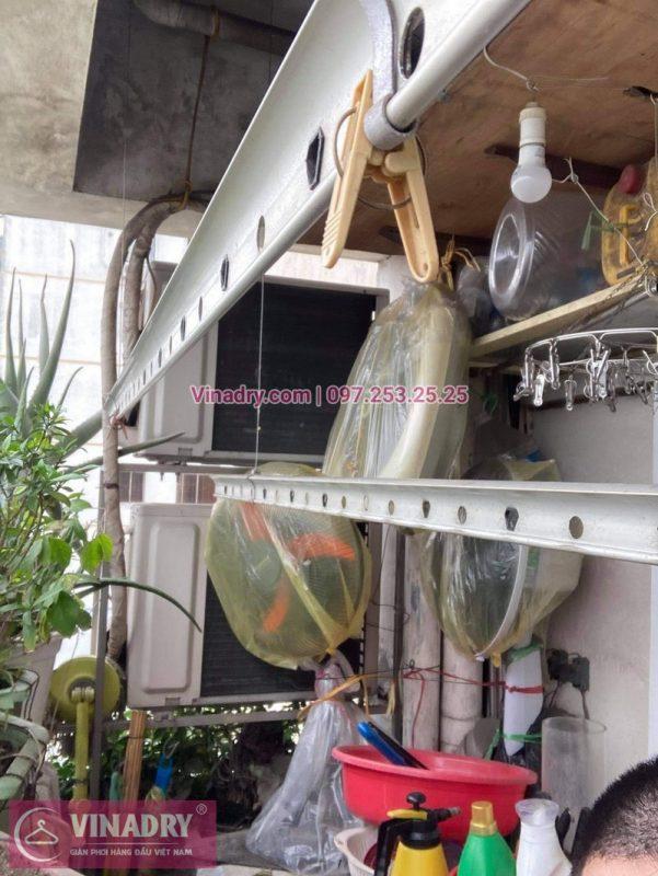Sửa giàn phơi quần áo tại Hai Bà Trưng, chung cư D4 Kim Liên nhà chị Thơm - 07