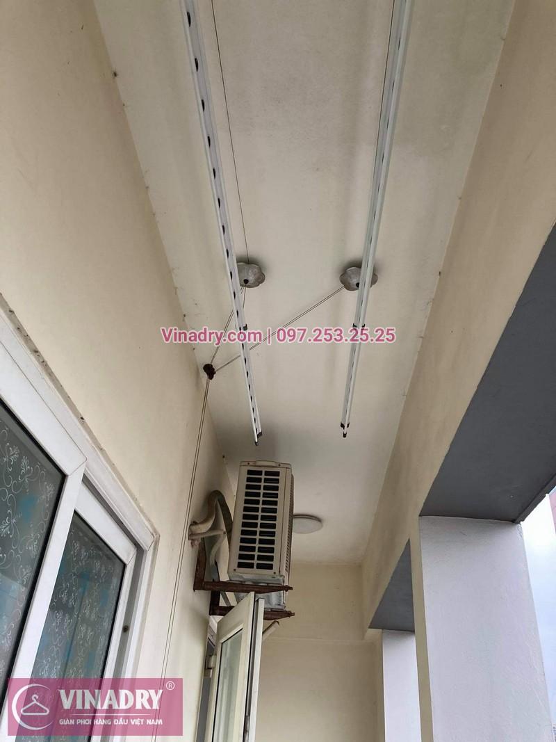 Hình ảnh sửa giàn phơi tại Đống Đa nhà anh Bình, chung cư Sunrise Tower - 02