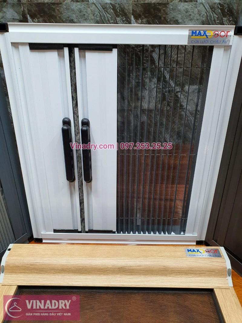 Cửa lưới chống muỗi sử dụng khung nhôm hệ nhập khẩu